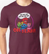 THE FAT CAT SAT ON THE HAT Unisex T-Shirt