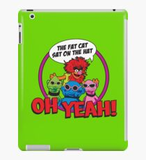THE FAT CAT SAT ON THE HAT iPad Case/Skin