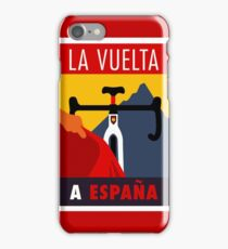 LA VUELTA: Vintage ESPANA Bicycle Racing Advertising Print iPhone Case/Skin