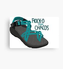 Rock-O The Chacos Canvas Print