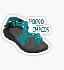 Rock-O The Chacos Sticker