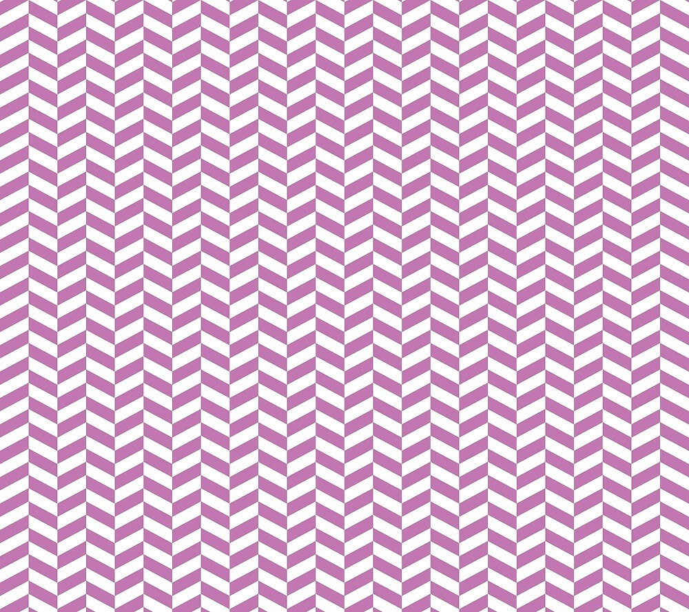 Orchid Purple Herringbone Pattern Design by SkylineSquirrel