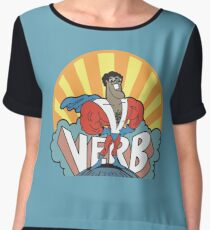 VERB : THAT WHAT'S HAPPENING Women's Chiffon Top