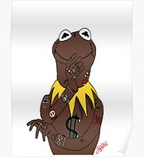 Black Kermit  Poster