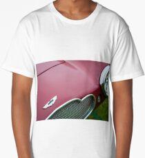 1953 Aston Martin DB2-4 Bertone Roadster Hood Emblem -1095c Long T-Shirt