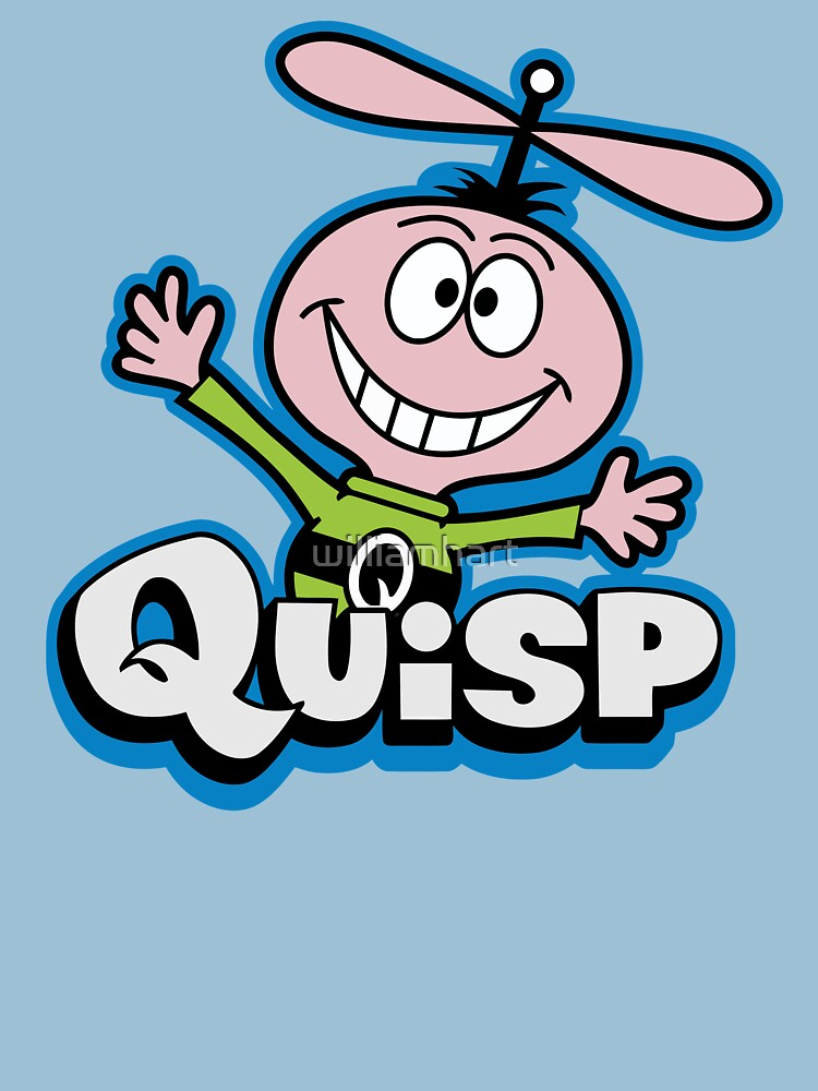 quisp crunchy unisex t shirt by williamhart redbubble