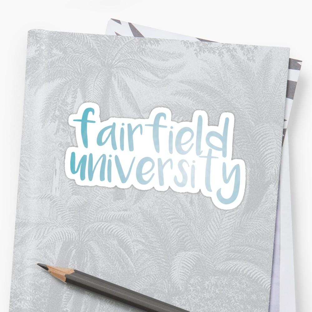 Fairfield University  by caro111111