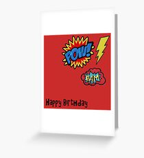 Happy Birthday - Super Patch Greeting Card