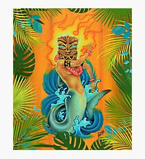 Shark Goddess Photographic Print