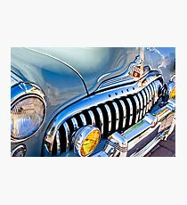 1947 Buick Eight Super Grille Emblem -026c Photographic Print