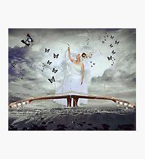 The Bridge of Broken Song (vintage effect) Photographic Print