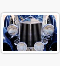 1933 Packard 12 Convertible Coupe Grille -0537c Sticker