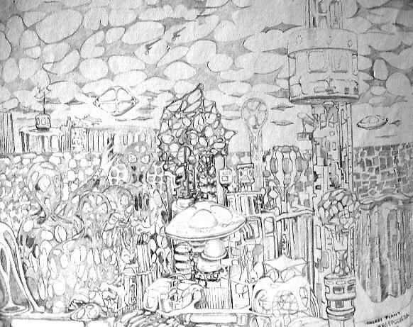 Energy Plant by Harry G. Sepulveda
