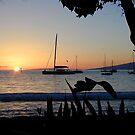 Lahaina Sunset by Cathy Jones