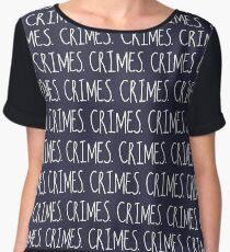 Crimes. Women's Chiffon Top