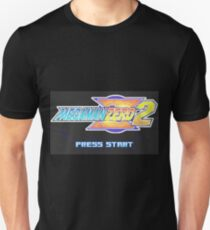 Mega Man Zero 2 Title Screen Unisex T-Shirt