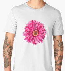 pink flower Men's Premium T-Shirt