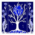Blue Moon - Tree by Linda Callaghan