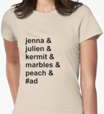 Jenna & Julien Family Womens Fitted T-Shirt