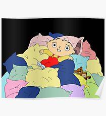 Pillow World Stewie Poster