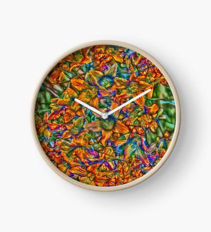 Flowers Clock