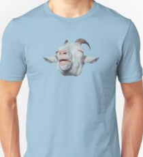 Camiseta unisex Happy Goat is Faded