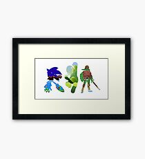 Gaming history Framed Print