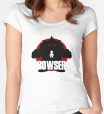 BOWSER (Godzilla) Women's Fitted Scoop T-Shirt