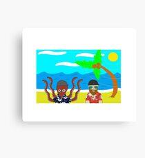 The Beach Bros Canvas Print