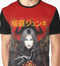 The Vampire and the Rose Graphic T-Shirt