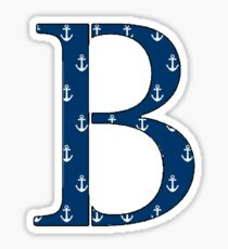 Beta Anchor Sticker