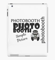 Photobooth iPad Case/Skin