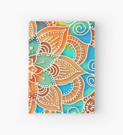 Sunshine Yellow Mandala Hardcover Journal