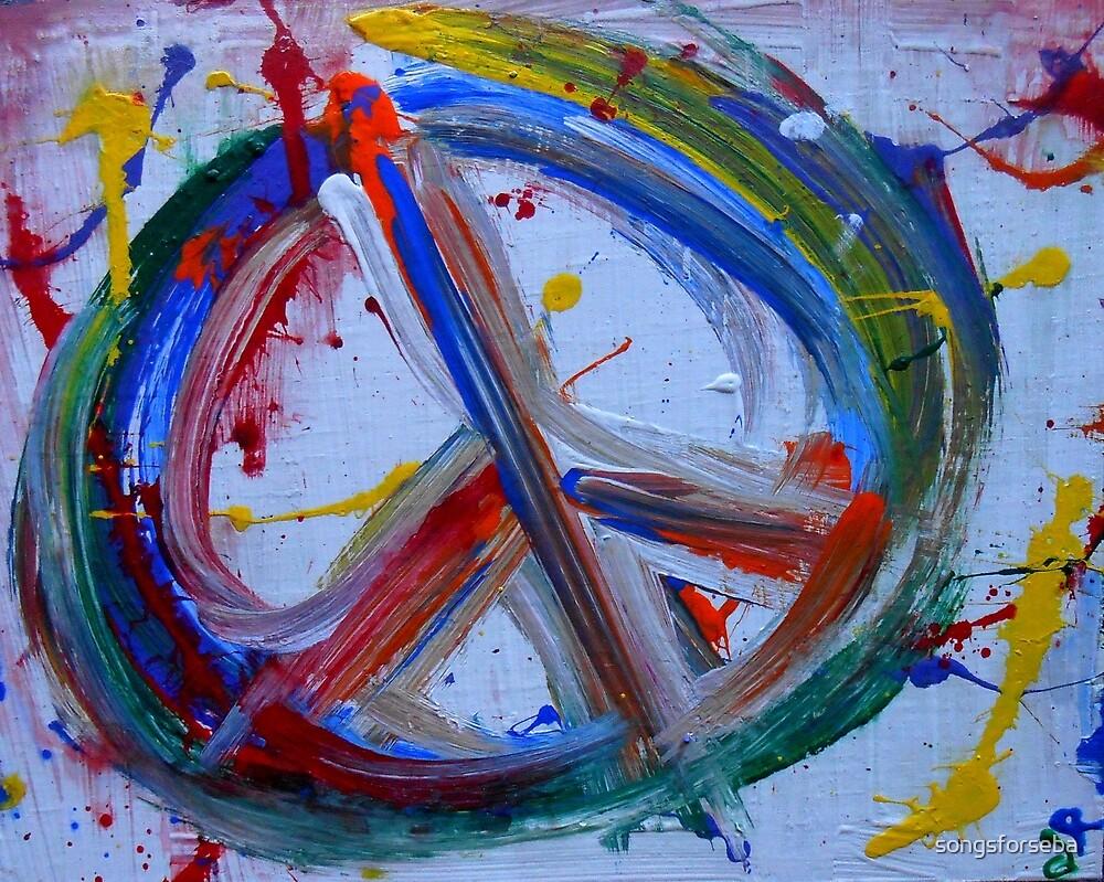 abstract peace by songsforseba