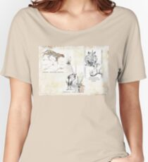Lodge décor - Wildlife Triptych Women's Relaxed Fit T-Shirt