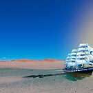 Ship in the Desert by dstarj