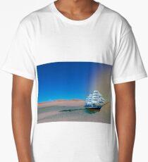 Ship in the Desert Long T-Shirt