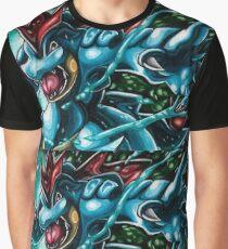 Feraligatr Swagger Graphic T-Shirt