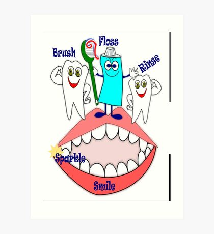 Dental  (12311 Views) Art Print