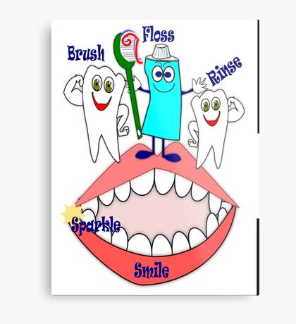Dental  (12311 Views) Metal Print