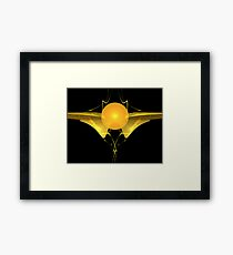 Golden Snitch Framed Print