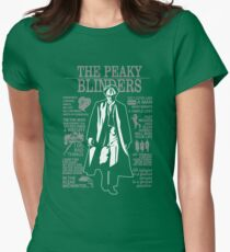 The Peaky Blinders Pic Womens Fitted T-Shirt