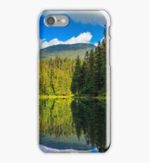 mountain lake among the forest iPhone Case/Skin