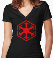 Sith Empire Women's Fitted V-Neck T-Shirt
