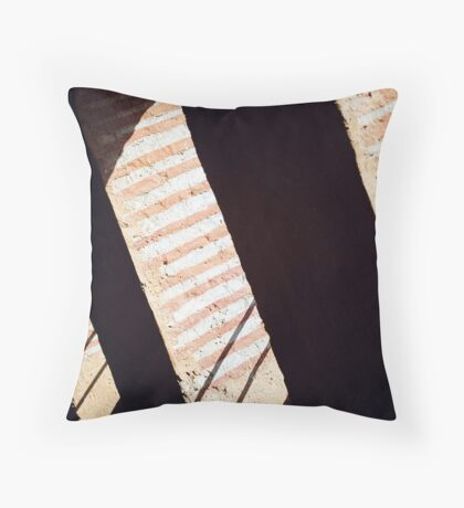 Walls Throw Pillow