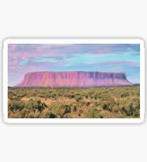 Pink Cliffs Sticker