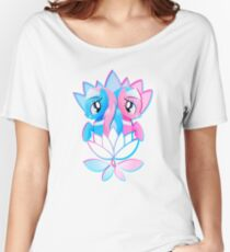 Aloe and Lotus Blossom Women's Relaxed Fit T-Shirt