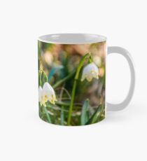 snowflake, first flowers of spring Mug