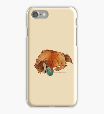 A relaxed dog [1994  views] iPhone Case/Skin