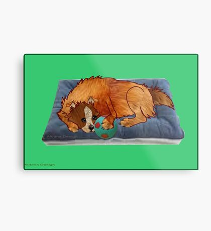A relaxed dog [1994  views] Metal Print